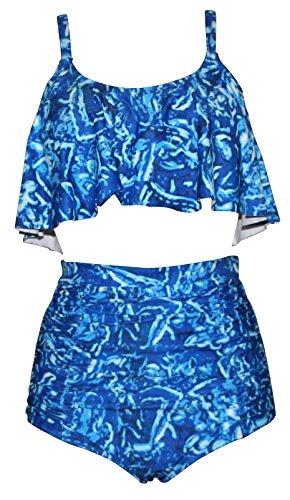 Haicoo Ruffle Waisted Comfortable Tankini product image