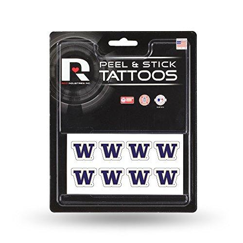 NCAA Washington Huskies Face Tattoos, 8-piece Set