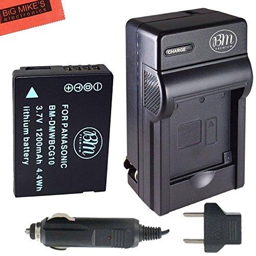 BM Prmeium DMW-BCG10, DMW-BCG10E, DMW-BCG10PP Battery and...