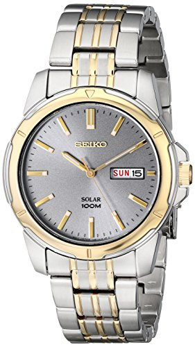 Seiko Men's SNE098 Two-Tone Stainless Steel Watch by Seiko Watches