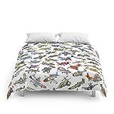 Society6 Sky Tusslers Comforters Queen: 88'' x 88''