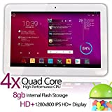 Matricom® G-Tab Quantum 10 Android 4.2 HD+ IPS Quad Core Tablet PC (10.1-Inch IPS, WiFi, Bluetooth)