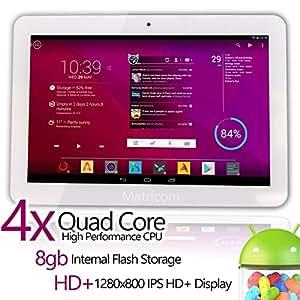 Matricom® G-Tab Quantum 10 Android 4.2 HD+ IPS Quad Core Tablet PC (10.1-Inch IPS, WiFi, Bluetooth)