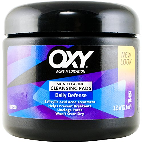 Oxy Daily Defense Cleansing Pads Maximum, 55 Pads