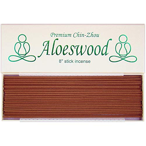 "Premium Chin-Zhou Aloeswood - 8"" Stick Incense - 100% Natural - F447T"