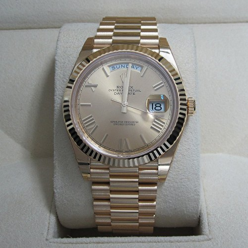 ROLEX 18K YELLOW GOLD PRESIDENT DAY DATE 40M CHAMPAGNE 228238 NEW MODEL Unworn (Gold President Dial Champagne)
