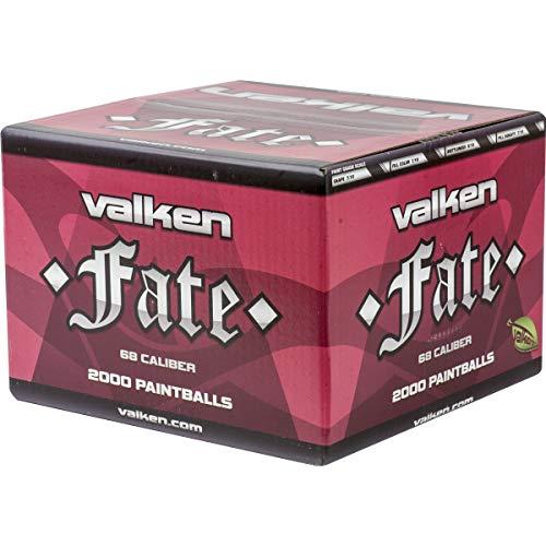 - Valken Fate Paintballs - 68cal - 2,000ct - Blue-Yellow Fill
