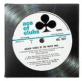 Vintage Record Coasters - Upcycled Vintage Vinyl LP Records - Set of 6 Coasters By Vinylux