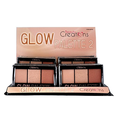 Beauty Creations Glow Highlighter Trio 2 Palette ()
