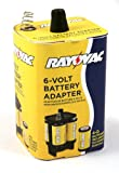Rayovac 6VADPT-B 6-volt Battery Adapter with Batteries