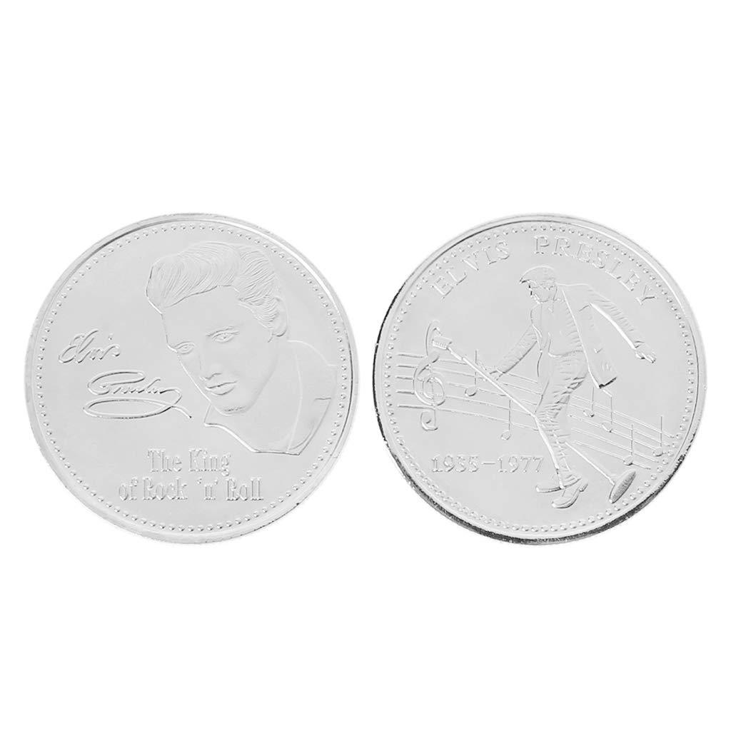 FANER Elvis Presley Commemorative Coin 1935-1977 The King Of Rock