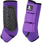 Classic Equine CLASSICFIT Purple Front Horse SMB Boots (Large)