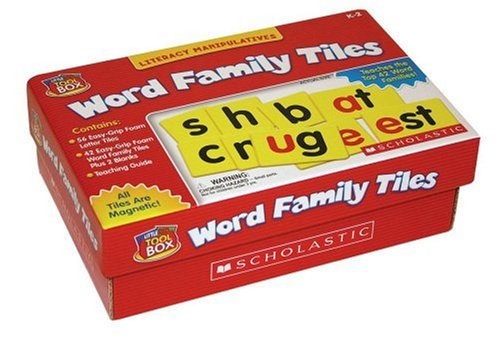 Red Box Tools - Little Red Tool Box: Word Family Tiles