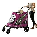 Pet Gear PG8850NZBB No-Zip Expedition Pet Stroller