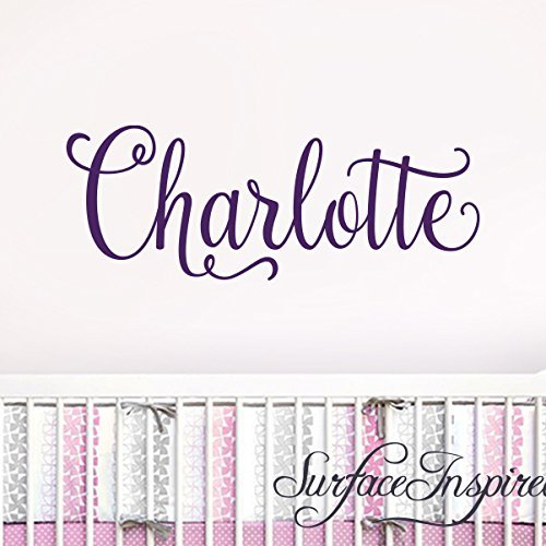 Name Wall Sticker Wall Decal Personalized Removable Wall Decals Stickers From Surface Inspired 1041