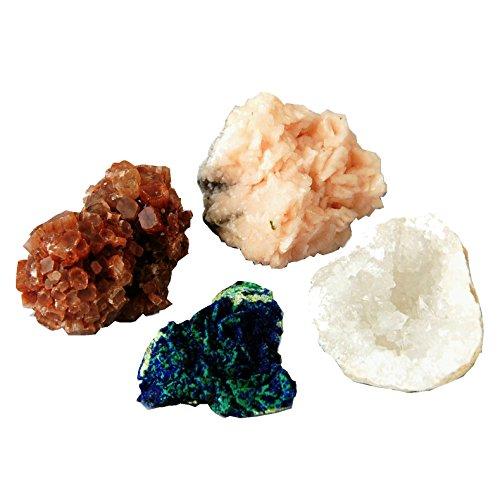 UPC 711274826707, Box of Moroccan Dolomite Malachite Aragonite Crystal Quartz Geode Cluster Specimen, By JIC Gem