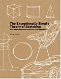 The Exceptionally Simple Theory of Sketching: Why do professional sketches look beautiful?