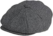 Fashion Cotton Cabbie Hat Buckle Golf Ivy Colorful Newsboy Driving Cap