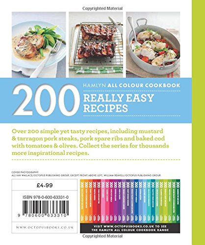 200 really easy recipes hamlyn all colour cookbook hamlyn all 200 really easy recipes hamlyn all colour cookbook hamlyn all colour cookery amazon louise pickford 9780600633310 books forumfinder Images