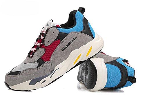 ペチコートペフトレイル(チェリーレッド) CherryRed メンズ レディース スポーツ スニーカー トラベル ランニング 運動靴 歩きやすい 通気 39 グレー