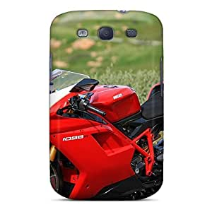 Protection Case For Galaxy S3 / Case Cover For Galaxy(ducati Vehicles Motorcycles)