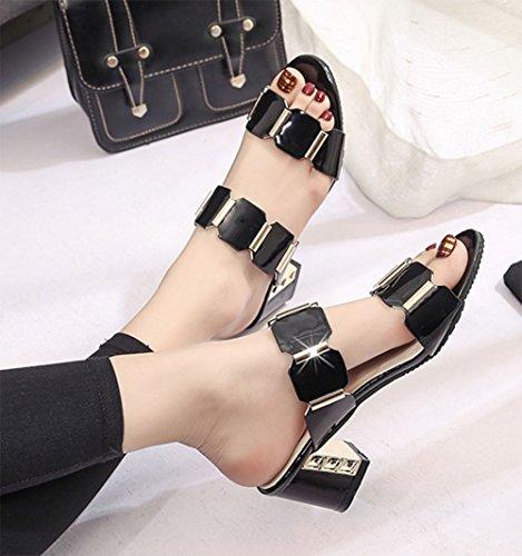 KUKI Sandales pour et femme pantoufles r0wBqr