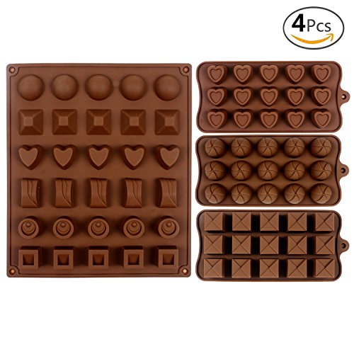 JUSLIN Silicone Chocolate 30 cavity 12 cavity product image