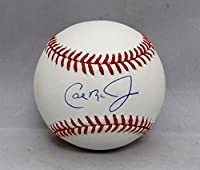 Cal Ripken Jr. Autographed Rawlings OML Baseball- JSA W Authenticated