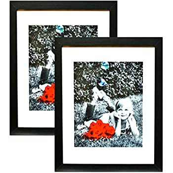 Amazon Giftgarden Black 8x10 Picture Frame Wall Decor For 8 By