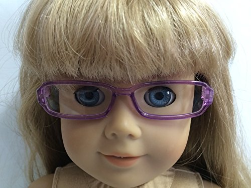 Purple Rimmed Eyeglasses made for 18 inch American Girl - Girl New Eyeglasses