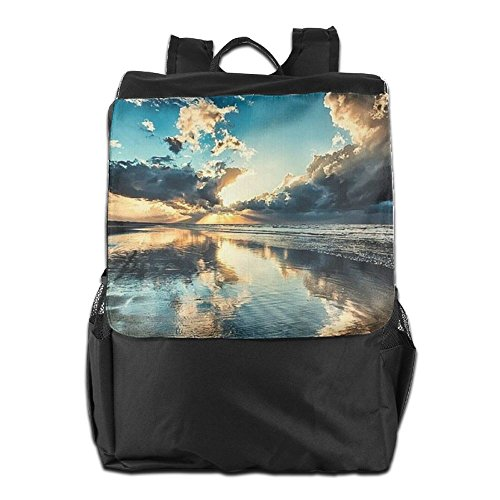 Strap Dayback Travel School Amazing and Ocean Backpack Outdoors Women Personalized Camping Storage HSVCUY Shoulder Photography for Adjustable Men wqPOFBX