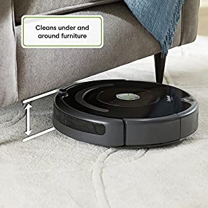 iRobot Roomba 675 Robot Vacuum-Wi-Fi Connectivity, Works with Alexa, Good for Pet Hair, Carpets, Hard Floors, Self-Charging