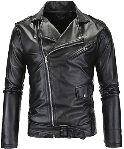 Leather Belted Coat - 6