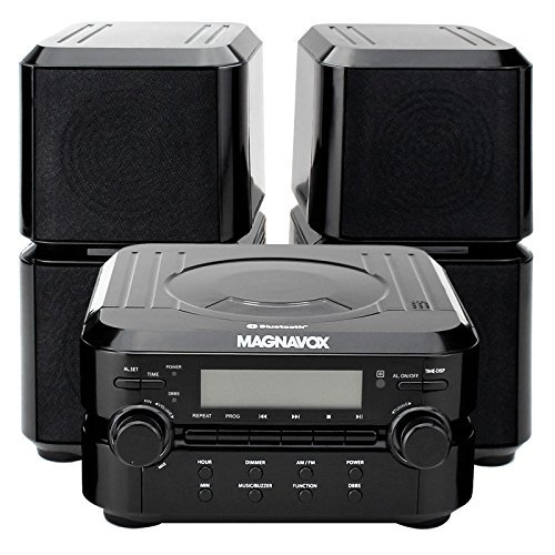 Magnavox MM435 Compact Shelf System Black