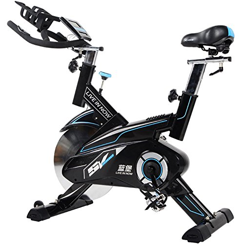 L-NOW Fitness Indoor Cycling Bike Stationary Trainer Exercise Bike, Black L NOW