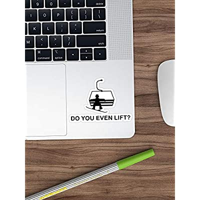 Deangelo Do You Even Lift? Stickers (3 Pcs/Pack): Kitchen & Dining