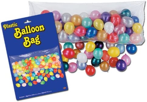 [해외]Plastic Balloon Bag (bag only) Party Accessory  (1 count) / Plastic Balloon Bag (bag only) Party Accessory  (1 count)