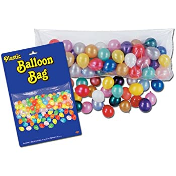 Amazon Pkgd Plastic Balloon Bag Bag Only Party Accessory 1