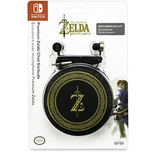 PDP Nintendo Switch Premium Zelda Breath of the Wild Chat Earbuds, - Southland Shops At
