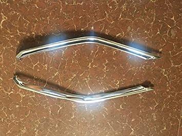 Embellecedores de ABS para la rejilla frontal central del coche. 2 piezas.: Amazon.es: Coche y moto