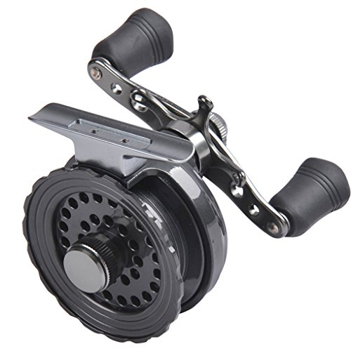 Fishlander ice fishing fiblink inline ice fishing for Left handed fishing reels