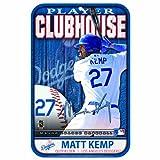 MLB Los Angeles Dodgers Matt Kemp 11-by-17 inch Sign