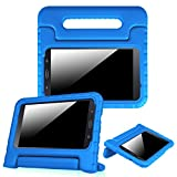 (US) Fintie Samsung Galaxy Tab A 7.0 Case - Light Weight Shock Proof Convertible Handle Stand Kids Friendly Cover for Samsung Galaxy Tab A 7-Inch Tablet 2016 Release (SM-T280 / SM-T285), Blue