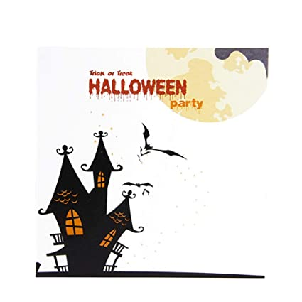 photograph regarding Printable Halloween Card referred to as : PanDaDa Upgrated Coloration Printing Halloween Card