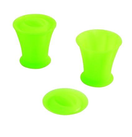 Orka Molde para Flan, silicona/nailon, 2 unidades