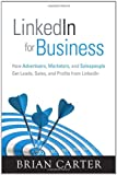 LinkedIn for Business, Brian Carter, 0789749688