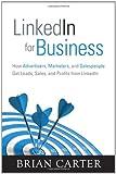 LinkedIn for Business, Brian Carter, 0789749688