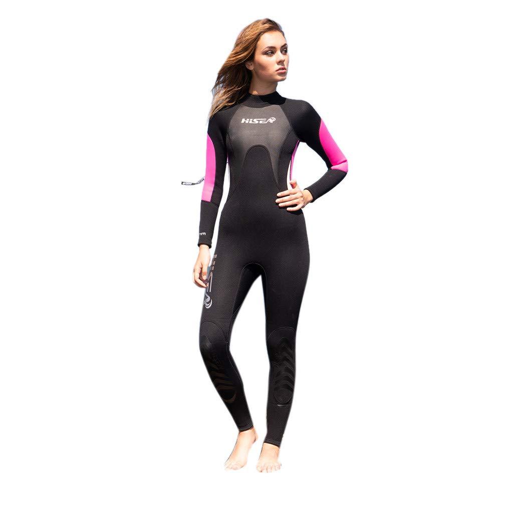 Mr.Macy Women's 3MM Sunblock Neoprene Wetsuit for Scuba Diving Surfing Swimming Full B