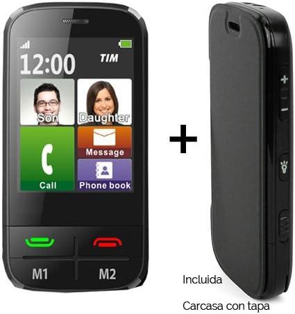 Teléfono móvil táctil fácil uso para personas mayores: Amazon.es ...