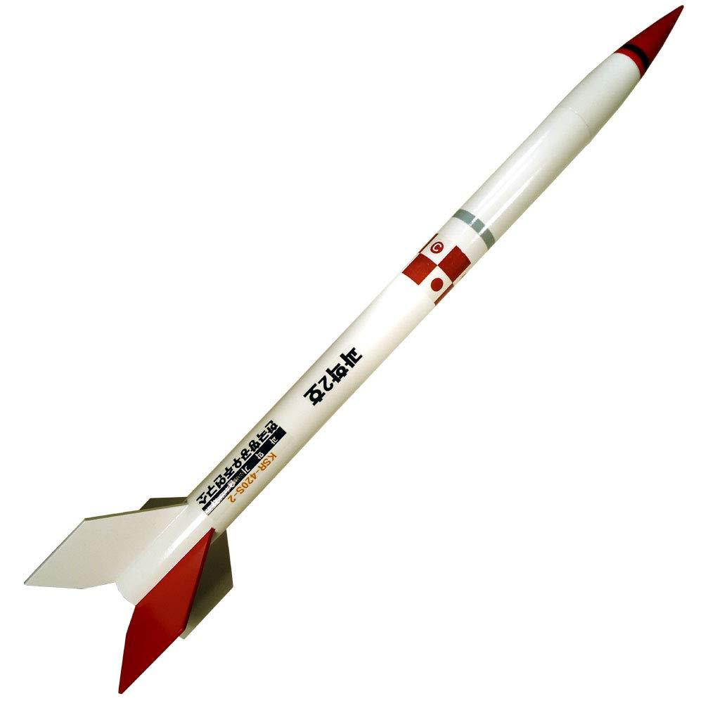 Rocketarium Flying Model Rocket Kit KSR-420S Sounding Rocket RK-KS420